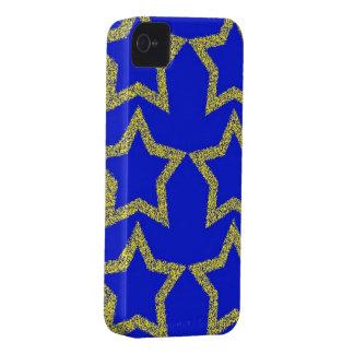 Estrellas en el caso del iPhone 4/4S del estilo de iPhone 4 Case-Mate Coberturas