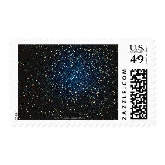 Estrellas en el espacio 2 sellos