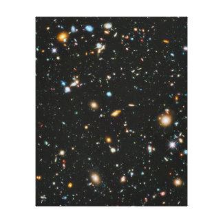 Estrellas en el espacio - campo ultra profundo de impresión de lienzo