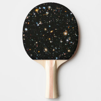 Estrellas en el espacio - campo ultra profundo de pala de tenis de mesa