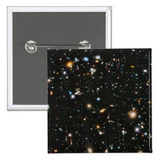 Estrellas en el espacio - campo ultra profundo de pin cuadrado