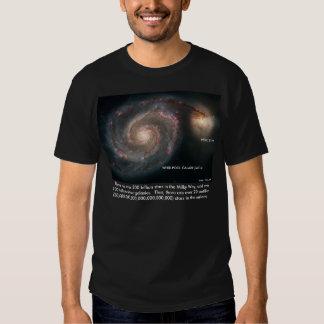 Estrellas en el universo remera