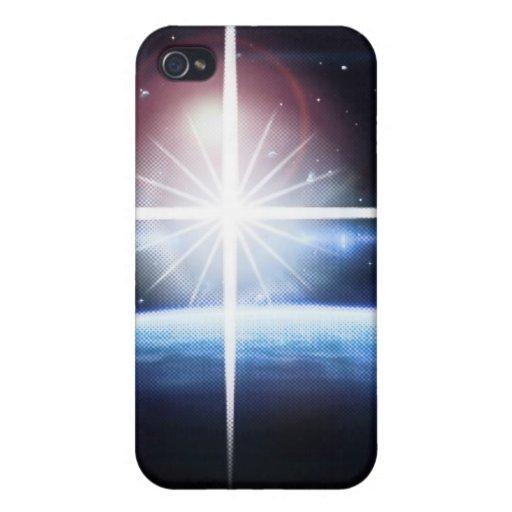 Estrellas en espacio iPhone 4 carcasa