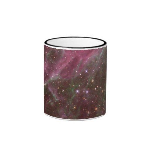 Estrellas en la nebulosa del Tarantula Taza De Dos Colores
