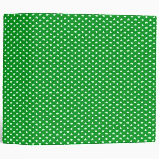 """Estrellas en verde carpeta 2"""""""