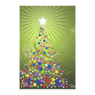 Estrellas festivas  papeleria de diseño