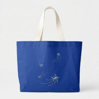 estrellas fugaces bolsa tela grande