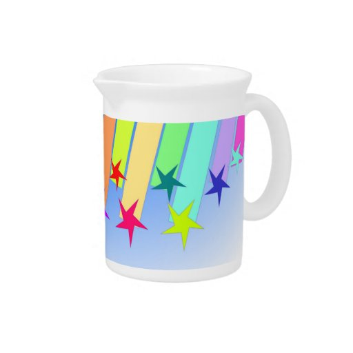 estrellas fugaces jarra para bebida