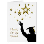 Estrellas graduadas del varón tarjetas