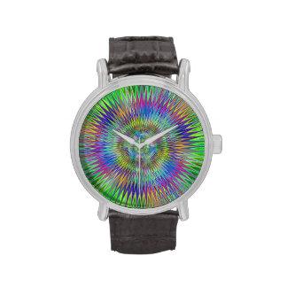 Estrellas hipnóticas relojes de mano