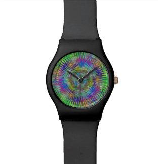 Estrellas hipnóticas reloj