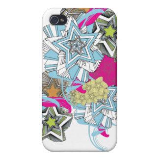 Estrellas II iPhone 4 Cárcasas