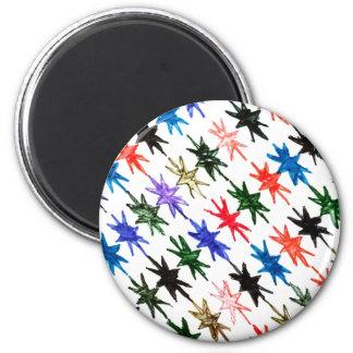 Estrellas Imán Redondo 5 Cm