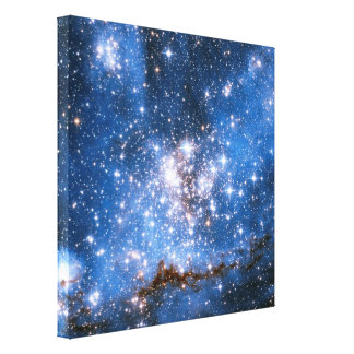 Estrellas infantiles de NGC 346 Lona Envuelta Para Galerias
