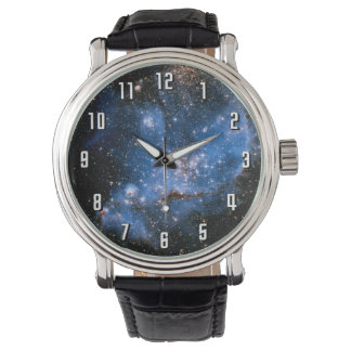 Estrellas infantiles de NGC 346 Relojes De Mano