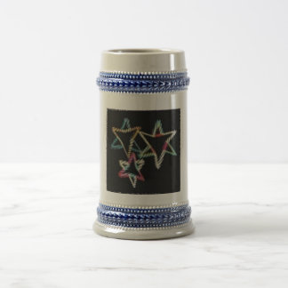 Estrellas judías de neón Stein Jarra De Cerveza