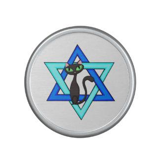 Estrellas judías del gato altavoz