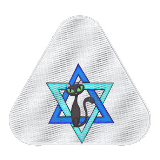 Estrellas judías del gato altavoz bluetooth