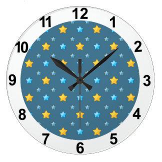 Estrellas lindas relojes de pared