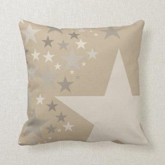 Estrellas monocromáticas del color adaptable - cojín
