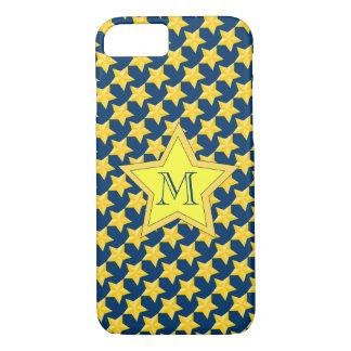 Estrellas náuticas cones monograma funda iPhone 7