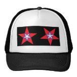 Estrellas patrióticas gorro