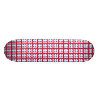 Estrellas patrióticas tabla de skate