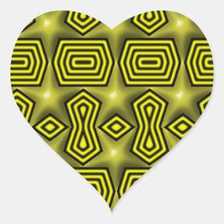 ¿Estrellas? Calcomanía De Corazón Personalizadas