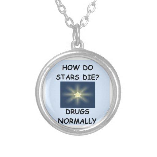 estrellas pendiente personalizado