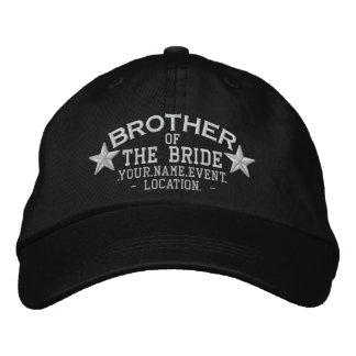 Estrellas personalizadas Brother del bordado de la Gorra De Béisbol