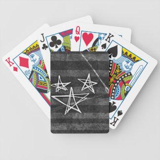 Estrellas punkyes baraja cartas de poker