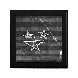 Estrellas punkyes cajas de joyas