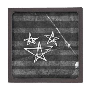 Estrellas punkyes cajas de regalo de calidad