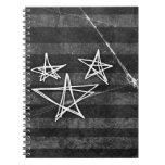 Estrellas punkyes cuaderno