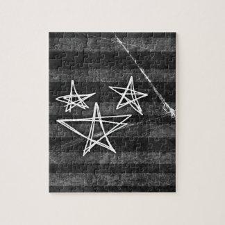 Estrellas punkyes rompecabeza con fotos