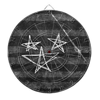 Estrellas punkyes tablero dardos