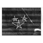 Estrellas punkyes tarjetas