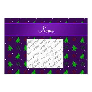 Estrellas púrpuras conocidas personalizadas del na fotos