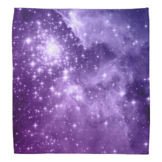 Estrellas púrpuras de la magia bandanas