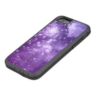 Estrellas púrpuras de la magia funda de iPhone 6 tough xtreme