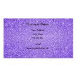 Estrellas púrpuras del brillo plantillas de tarjetas de visita