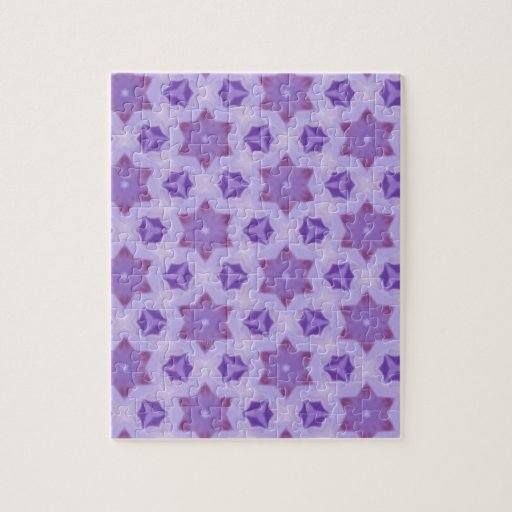 Estrellas púrpuras puzzles