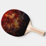 estrellas que caen abajo, abstracto pala de ping pong