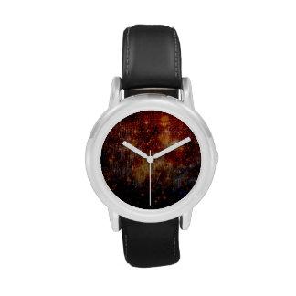 estrellas que caen abajo, abstracto relojes de pulsera