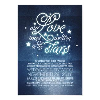 Estrellas que casan la invitación