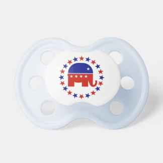 Estrellas republicanas orgullosas del círculo chupetes