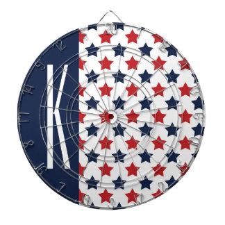 Estrellas rojas, blancas, y azules