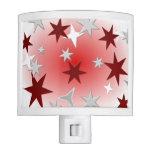 Estrellas rojas de la plata