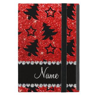 Estrellas rojas de neón conocidas de encargo de iPad mini carcasa