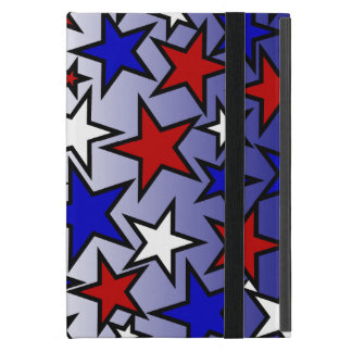 Estrellas (rojo, blanco y azules) iPad mini cobertura